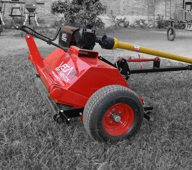 Desmenuzadora de tirón para tractor de 35hp de 1.2m de ancho de trabajo